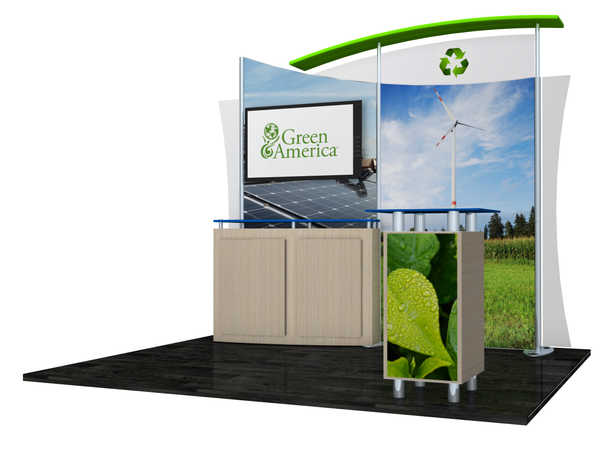 Green America Certified Eco Friendly Trade Show DIsplays